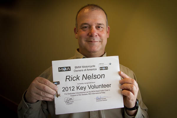 Rick Nelson, BMW Club of Indianapolis.