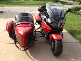 FOR SALE – 2012 BMWK1600GT W/ 2015 CUSTOM HANNIGAN HERITAGE SIDECAR